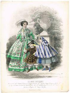Les Modes Parisiennes (1843-1875), April 24, 1858