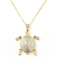 18KT CT. TW Sea Turtle Necklace (Jewelry)  http://www.quickreviewsblog.com/amprod/amprod.php?p=B0050HMQ0K  B0050HMQ0K