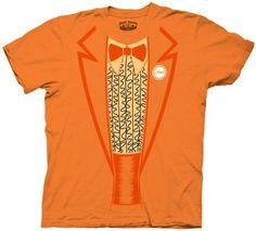 Dumb & Dumber Tuxedo Tux Costume Orange T-Shirt