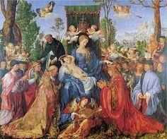 Alberto Durero - fiesta del rosario 1506