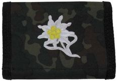 MFH Nylongeldbörse, flecktarn, Edelweiß  #geldbeutel #geldbörse #flecktarn #nylongeldbörse #bundeswehr #ledelweiss #gebirgsjäger / mehr Infos auf: www.Guntia-Militaria-Shop.de