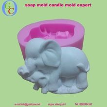 elephant shape soap mold 2015 new silicone mold for soap making silicone cake mold 3d mold