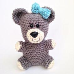 Crochet Bear Amigurumi Bear Plush Teddy Bear by TheSimplyHooked