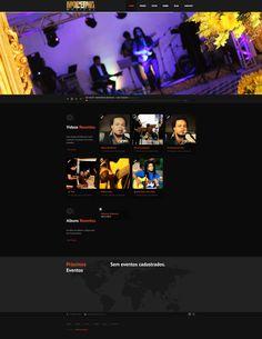 Instalação, configuração e personalização de Template em Wordpress. Link • www.modernamusical.com.br