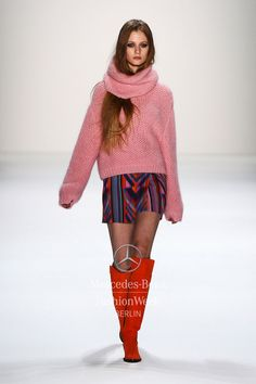 separated cowl neck  lala berlin aw 13