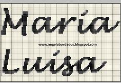 Ângela Bordados: nomes