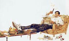 The Odd Couple,with Walter Matthau.  Photo: Courtesy of Robert McGinnis.