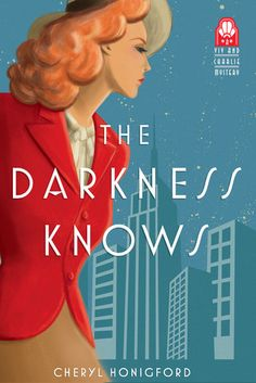 The Darkness Knows by Cheryl Honigford is a Charlie and Viv Mystery novel. Check out my review of this new historical cozy mystery! http://bibliophileandavidreader.blogspot.com/2016/08/the-darkness-knows.html