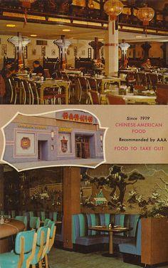 Nankin Cafe - Minneapolis, Minnesota Postcard