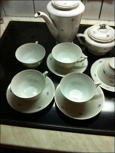 Antikes Kaffeeservice - RFH Sudetenland, 40,-- Tableware, Coffee, Projects, Dinnerware, Tablewares, Place Settings