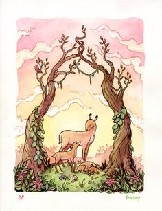 http://karlkwasny.tumblr.com/post/30046496800/mother-deer-collaboration-with-kippery