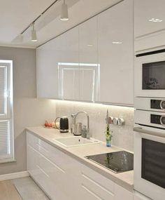 Rustic Kitchen Design, Kitchen Room Design, Contemporary Kitchen Design, Home Decor Kitchen, Interior Design Living Room, Modern Contemporary, Kitchen Ideas, Design Interior, Minimalist Kitchen
