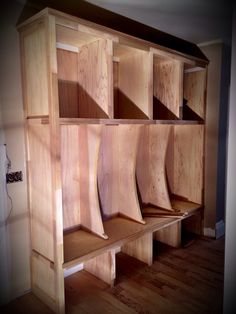 New curved lockers by Meridian Construction and David Weis. #LouisvilleHomeBuilder #HomeBuildersLouisville #LouisvilleNewHomes #LouisvilleBuilders #Custom #HomeBuilderLouisville #LouisvilleCustomHomeBuilder #CustomHomeBuilder #CustomBuiltHomesLouisville #MeridianConstruction #NortonCommons #Homearama