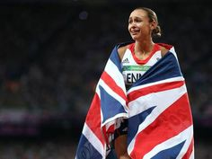 Jessica Ennis, Greg Rutherford and Mo Farah tonight struck gold for Britain in front of a capacity crowd of at the Olympic Stadium on a sensational evening for the home nation. Olympic Athletes, Olympic Team, Olympic Games, Olympic Champion, Jess Ennis, Greg Rutherford, Heptathlon, Mo Farah, World Athletics