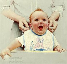 """""""Enjoyment"""" -  by Norman Rockwell"""