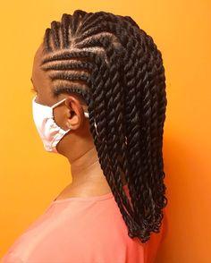 Hair Twist Styles, Natural Hair Bun Styles, Natural Hair Cuts, Natural Hair Braids, Natural Hair Styles For Black Women, Flat Twist Styles, Braids Hairstyles Pictures, Top Hairstyles, Braided Hairstyles