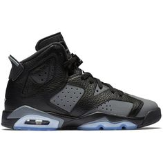 "Air Jordan 6 Retro GG ""Cool Grey"" ❤ liked on Polyvore featuring s h o e s and shoes"