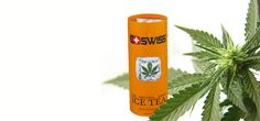 C-ICE Swiss Cannabis Ice Tea  - for people with high expectations!
