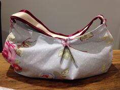 Latest project completed handmade handbag perfect for summer
