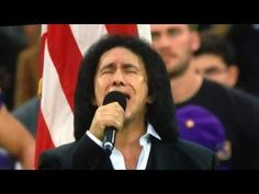 Amidst a government shutdown, America sends their best football teams and the perfect ambassador Gene Simmons of Kiss, to sing the American National Anthem in London.