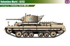 valentine mk 1 infantry tank