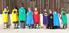 My daycare kids love to use blankets for capes.  I need to make some of these for them......looks pretty easy.