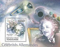 Albert Einstien, Einstein, Rare Stamps, Stamp Collecting, Science And Nature, Postage Stamps, Wonders Of The World, Literature, Medicine