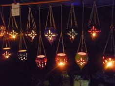 Hey, I found this really awesome Etsy listing at https://www.etsy.com/listing/239993590/stunning-pottery-hanging-lanternvibrant