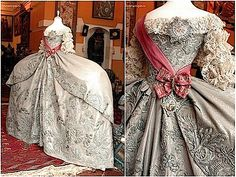 1745 Catherine the Great's wedding dress two views X1.25 From liveinternet.ru:users:3173294:post174236422  1745