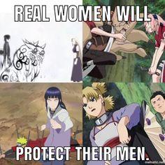 Temari Saves Shikamaru from Tayuya, Hinata saves Naruto from Pain, Sakura tries to save Sasuke from Gaara, Ino saves Sai from Gengo's genjutsu.  Amazing Kunoichis!