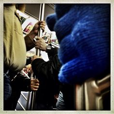 New York City, NY | November 24, 2012 Commuting on a packed NYC subway train during Thanksgiving Day weekend. #photography #photojournalism #documentary #streetphotography #mobilephotography #subway #nyc #newyork #commuters #thanksgiving - @benlowy- #webstagram