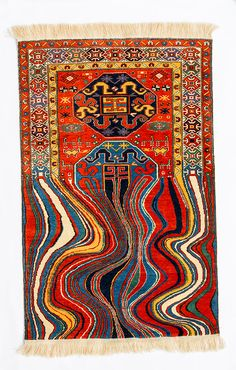 """Artist Faig Ahmed on his """"cold heart"""", carpets and subverting tradition"""
