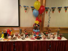 Candy station at cayleb's 1st bday party