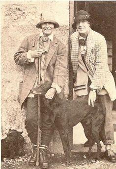 CoCo Chanel and Vera Bate Lombardi -Scotland