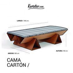 €350 Картонная кровать