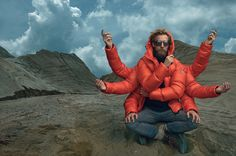 Moncler presents the Fall-Winter 2014/15 Advertising Campaign by Annie Leibovitz  #moncler #fw14 #campaign #annieleibovitz