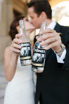 Wedding Favors We Love: MyJones Soda on Borrowed & Blue.  http://www.jonessoda.com/code/standard.php?cook=t  Use code BORROWED20 - fast turnaround time!