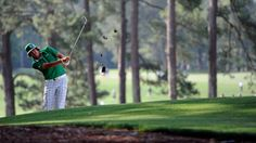 Rickie Fowler @ Augusta National G. Augusta National Golf Club, Rickie Fowler, Golf Clubs, Golf Courses, Golfers, Masters, Sports, Master's Degree, Hs Sports