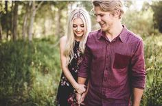 Aspyn Ovard and Parker Ferris engagement pictures