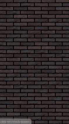 Handformed bricks by Vandersanden. Manufactured in Europe Type: handformed Texture: handformed Colour type: varied Colour: black