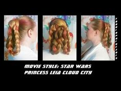 Let's try our hand and Leia's Cloud City hairstyle from The Empire Strikes Back. Turns out it's pretty danged simple. If you've not as much hair as I have an...
