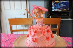 DIY Barbie cake
