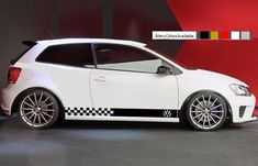 Sticker for VW Volkswagen polo Stripe Graphic part kit body line Rear light seat #ultimateprocy1