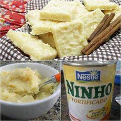 COCADA DE LEITE NINHO: Uma delícia que será um sucesso entre os seus familiares e amigos »