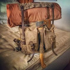 Survival Helpful Tips For bushcraft gear Wilderness Survival, Survival Gear, Survival Skills, Survival Fishing, Survival Guide, Hiking Gear, Camping Gear, Backpacking, Camping Bags