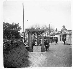Vista del recinte de la fira de mostres de Barcelona del 24 de març de 1922 :: Fons fotogràfic Salvany (Biblioteca de Catalunya)