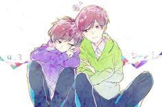 埋め込み画像 Osomatsu San Doujinshi, Laughing And Crying, Ichimatsu, All Anime, Steven Universe, Manga Art, Otaku, I Am Awesome, Brother