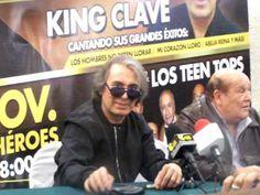 Rueda prensa con Leo Dan y King Clave