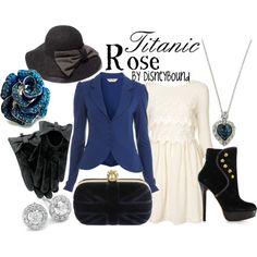 Titanic Rose modern.