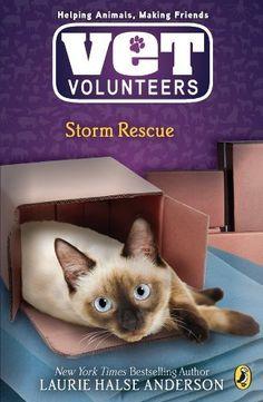 Storm Rescue #6 (Vet Volunteers) by Laurie Halse Anderson, http://www.amazon.ca/dp/B0013TPV8S/ref=cm_sw_r_pi_dp_Y-tEub1X7A53W